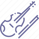 audio, instrument, music, violin icon