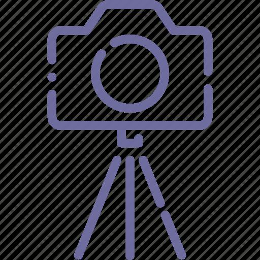 camera, dslr, photo, tripod icon