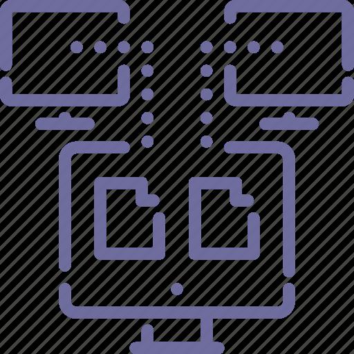 backup, data, network, sync icon