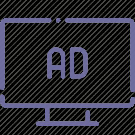 advertisement, advertising, banner, display icon