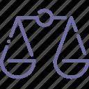 justice, scales icon