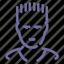 athlete, sportsman icon