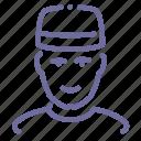 avatar, doorman, porter icon