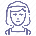 charwoman, housekeeper icon