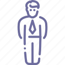 businessman, employee icon