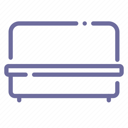 couch, furniture, lounge, sofa icon