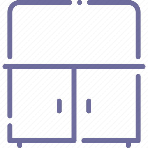 bathroom, cabinet, cupboard, mirror icon