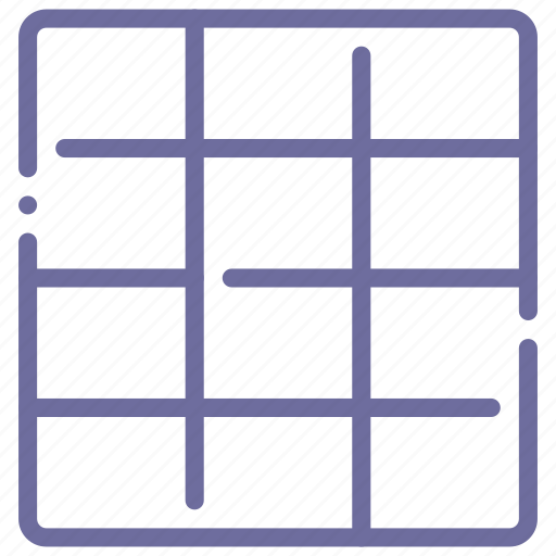 grid, layout, sign, twelve icon