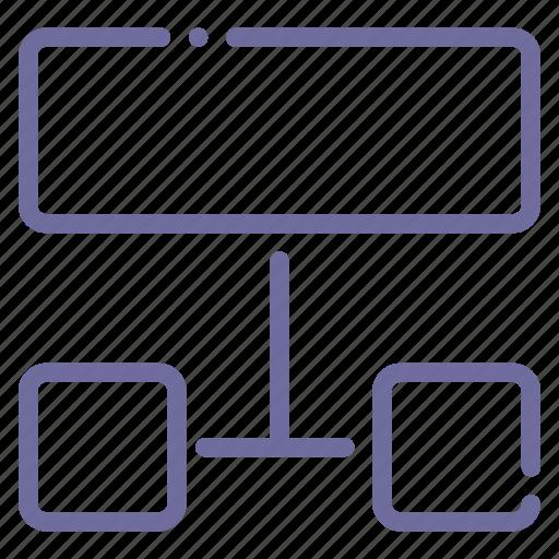 list, scheme, sitemap, structure icon