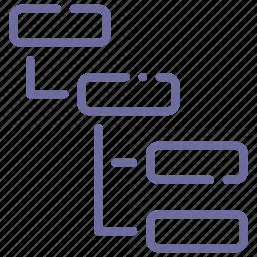 List, sitemap, structure, thread icon - Download on Iconfinder