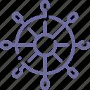 marine, sea, ship, wheel