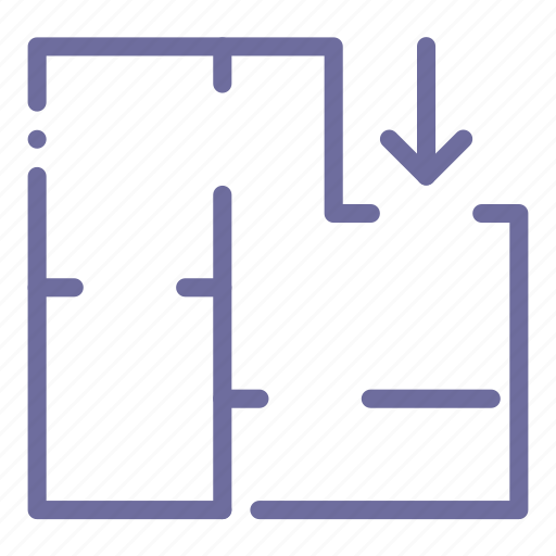 appartment, plan, scheme icon