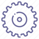 cogwheel, gear icon