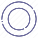 gasket, ring icon