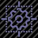 detail, drawing, scheme icon