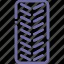 tread, wheel icon