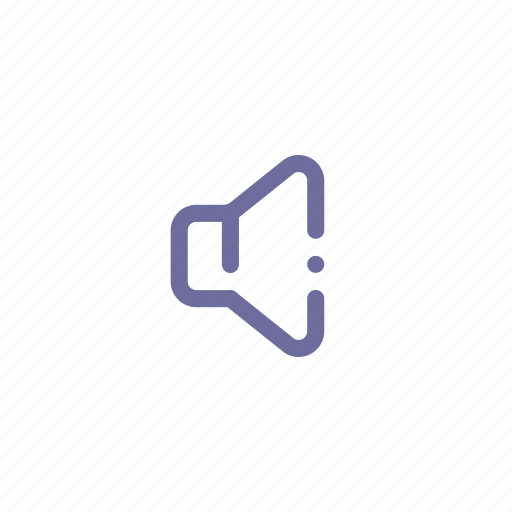 low, small, sound, volume icon