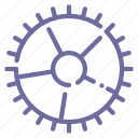 configuration, control, gear, settings icon