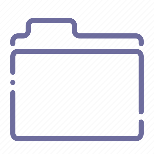 files, folder, portfolio, storage icon