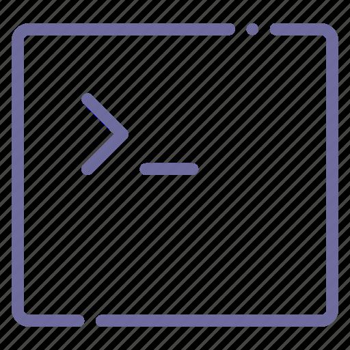 app, code, console, terminal icon