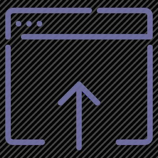app, data, import, upload icon