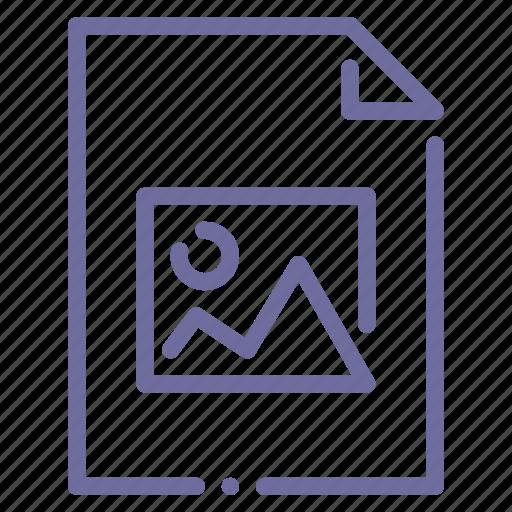 document, file, image, photo icon
