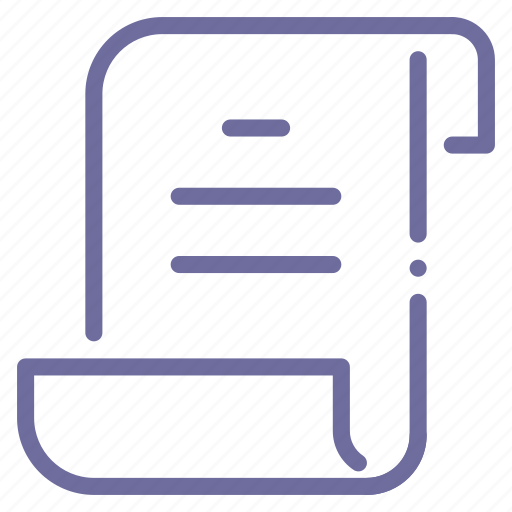 document, file, log, script icon