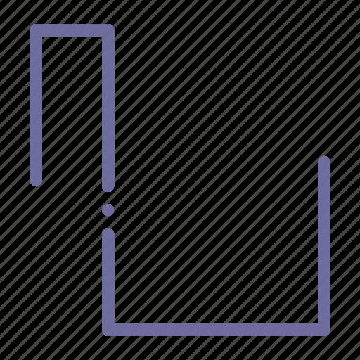 pulse, sound, square, wave icon