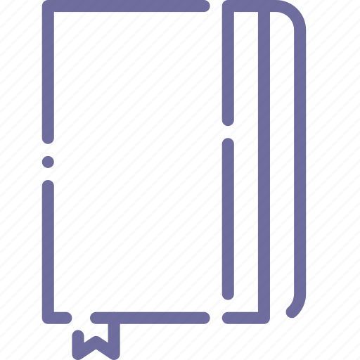 draw, moleskine, notes, sketch icon