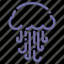 jellyfish, medusa, ocean, sea icon