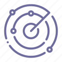 locator, radar, scan, sonar icon