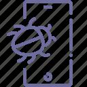 bug, mobile, smartphone, spy