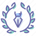 badge, award, designer