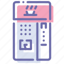 coffee, machine, tea, vending icon