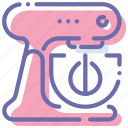 kitchen, kitchenaid, mixer, stand icon