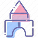baby, building, constructor, toy icon