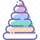 baby, educational, pyramid, toy icon