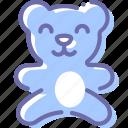 baby, bear, teddy, toy