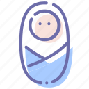 baby, boy, infant, newborn icon