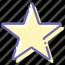 achievement, award, favorite, star