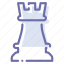 chess, game, rock, strategy icon