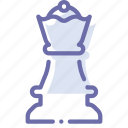 chess, figure, game, queen