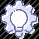 idea, process, production, work