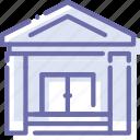 bank, banking, city, hall