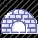 house, icehouse, igloo