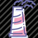 energy, plant, power, station icon
