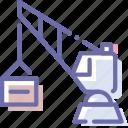 building, construction, crane, industry