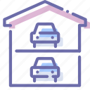 auto, car, garage, service icon