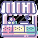 food, market, shop, store