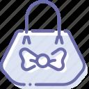 bag, handbag, lady, purse icon